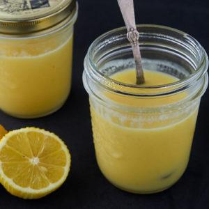 Lemon curd sous vide - Nem opskrift på silkeblød citroncreme lavet i sous vide