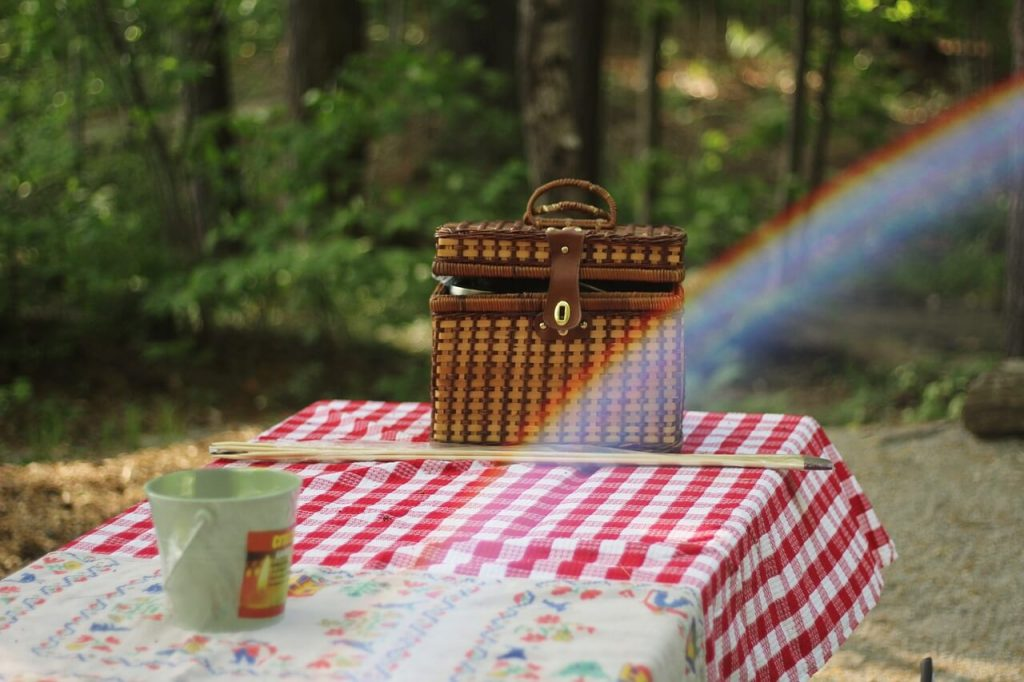 tips for the perfect picnic with a food basket