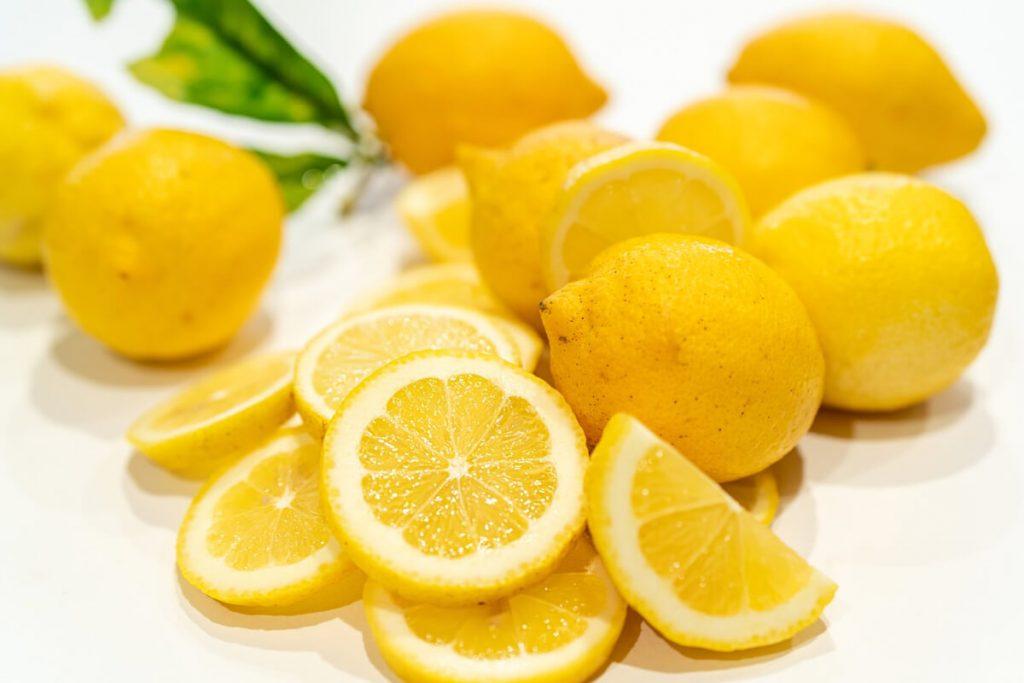 citron til dessert eller i det salte køkken